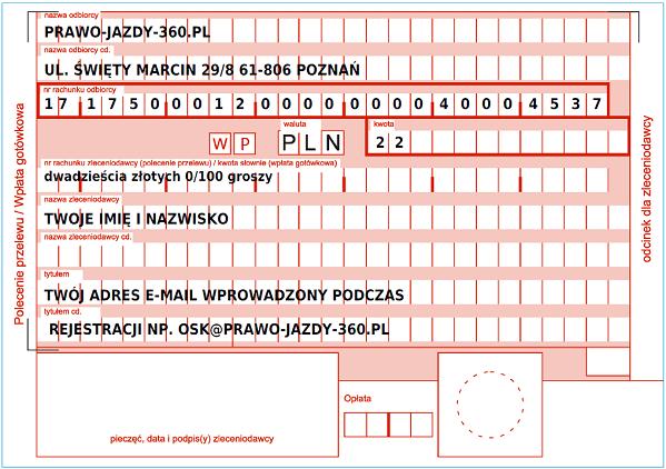word testy na prawo jazdy 2019